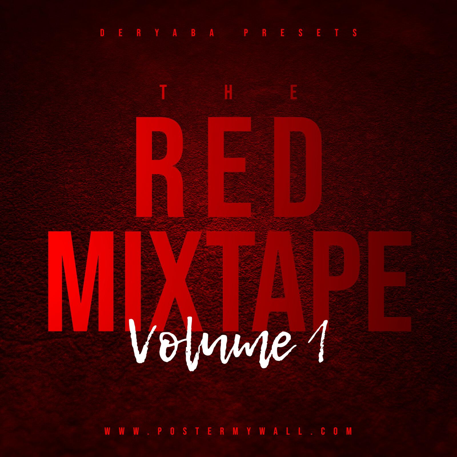 Red Hip Hop Album Cover