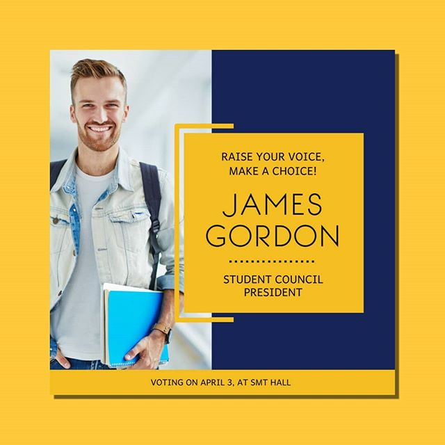 Beat the odds and win your election campaigns with our easy-to-customize flyers, videos and social media graphics. 💯 #election #campaign #studentcouncil #school #students #studentlife #teacher #highschool #college #university #voteforme #posterdesign #poster #flyerdesign #flyers #instadaily #instamood #instahappy #instaphoto #inatapic #daily #love #free #new #marketingagency #marketing #council #tuesdayvibes #may #tuesday