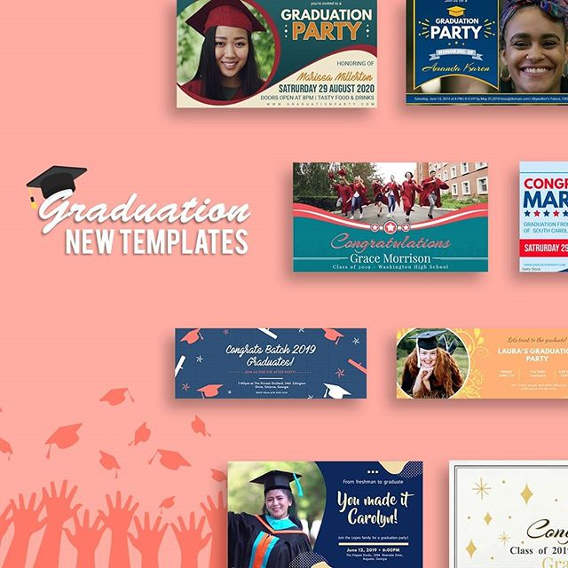 Are you all set for #Graduation season? 🎓 Commemorate this important milestone with personalized flyers, videos and social media graphics. Perfect for printing and sharing online! 💯 graduate #graduated #graduation #grad #graduating #graduates #graduación #school #college #highschool #university #graduaciones #graduação #graduationday🎓 #teacher #student #instadaily #instalove #love #happy #happiness #memorable #daily #instaphoto #instapic #marketing #thursday #thursdaymotivation #tuesdayvibes #tuesday