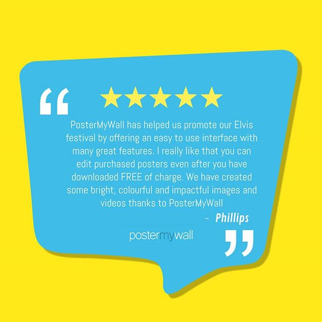 Phillips uses PosterMyWall to create impactful advertisements for his events. 💯 Here's what he has to say about his experience: . . #good #love #instalove #instahappy #happy #happiness #instaphoto #instapic #daily #instadaily #review #reviews #customer #customerstories #successstories #tuesday #tuesdayvibes #tuesdaymotivation #eventplanner #eventplanning #party #partyplanning #partyplanner #marketingtools #marketingmanager #marketingdigital #digialmarketing #marketer #socialmediamarketing #socialmediamanager