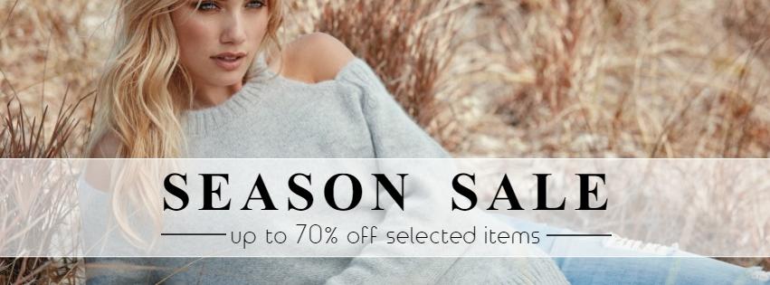 Clothes sale retail banner