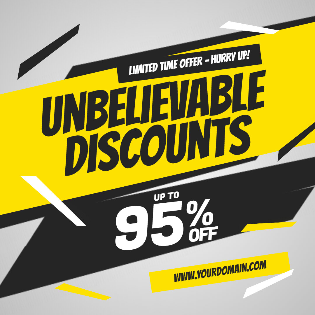 Retail Discount Sale Ad