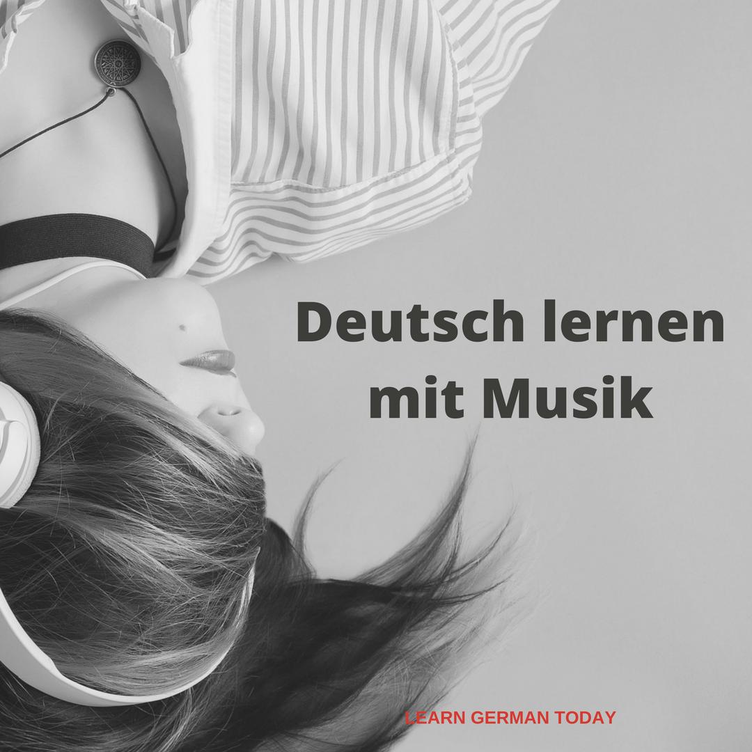 Deutschlernen mit Musik