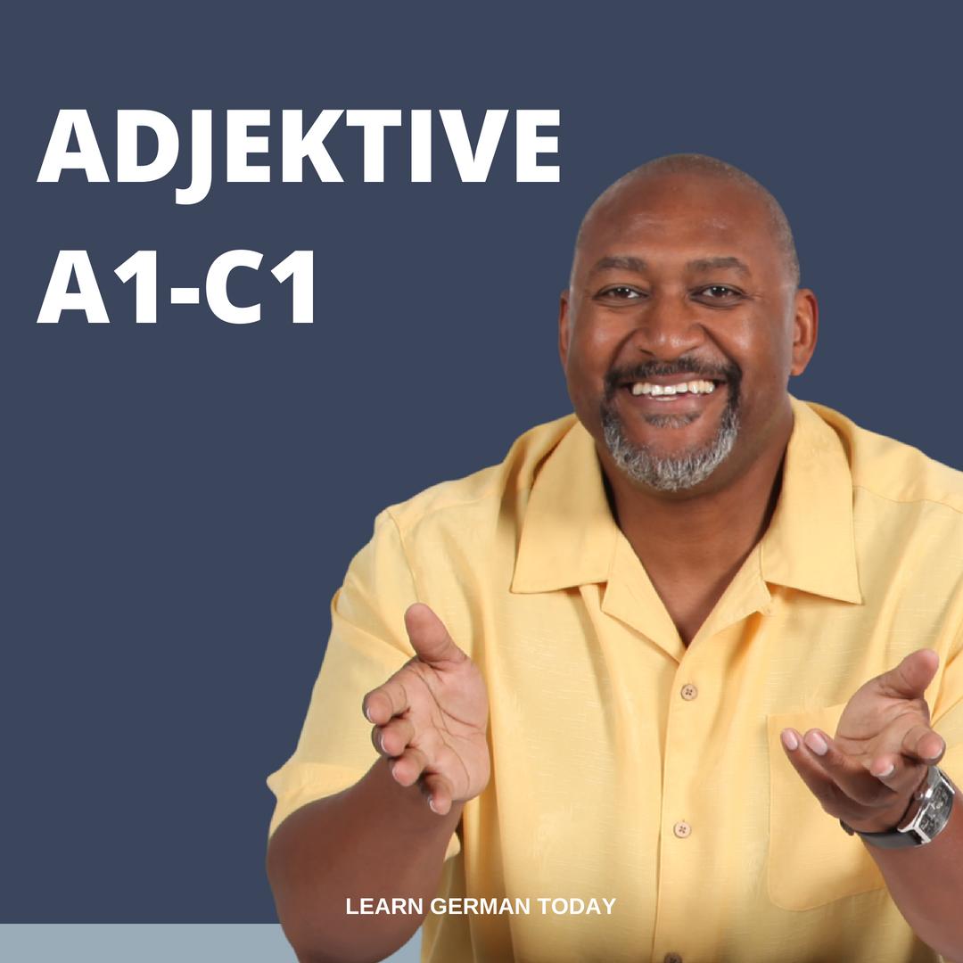 A1-C2 Adjektive