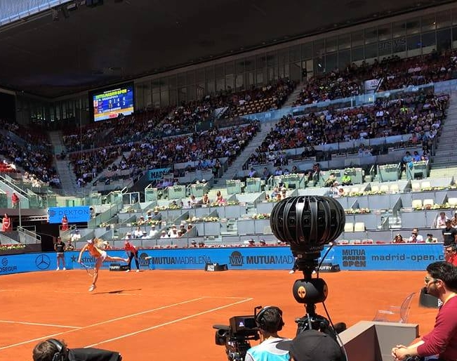 8ball at the Madrid Open