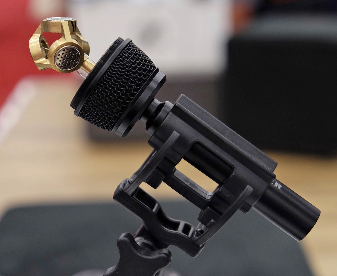 Sennheiser AMBEO VR Microphone. Image courtesy of Engadget