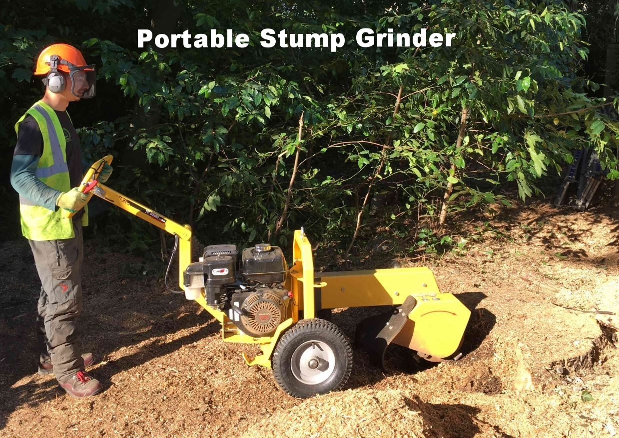 Portable Stump Grinder
