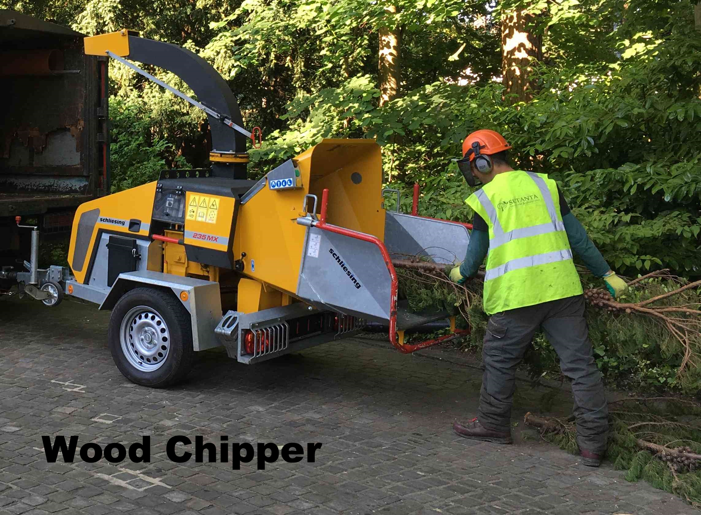 Tree Care Chipper