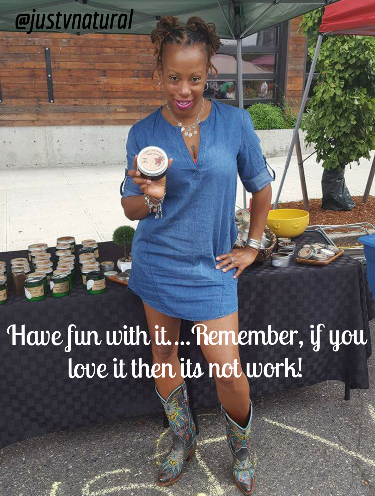 Have fun with it.....remember, if you love it then it's not work!
