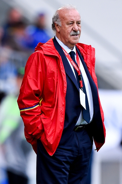 Vicente Del Bosque, der har stået i spidsen for Spanien siden 2008. Foto: David Ramos - Getty Images.
