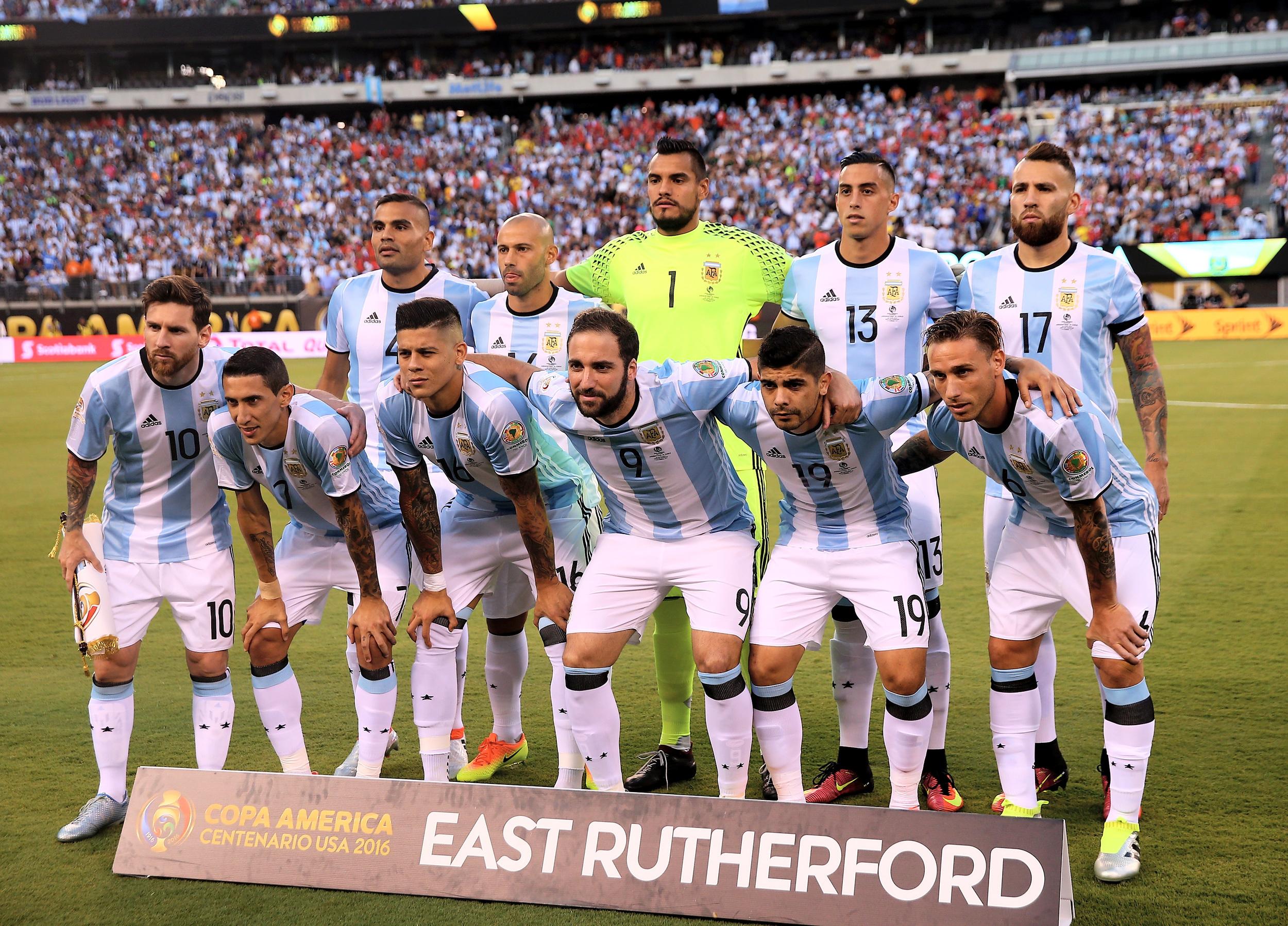 Der er forlydender om at flere af de argentinske spillere vil stoppe på landsholdet efter Copa America. Foto: Getty Images/Elsa