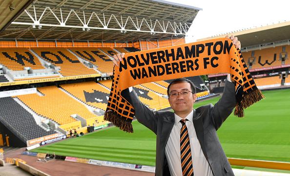 Jeff Shi er repræsentanten for Fosun Group, der har købt Wolverhampton. Foto: Getty Images/Sam Bagnall