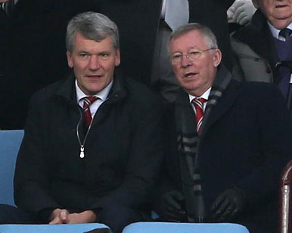 Alex Ferguson (th) har beskrevet David Gill som den bedste CEO, han har arbejdet med. Foto: Getty Images/Matthew Peters.