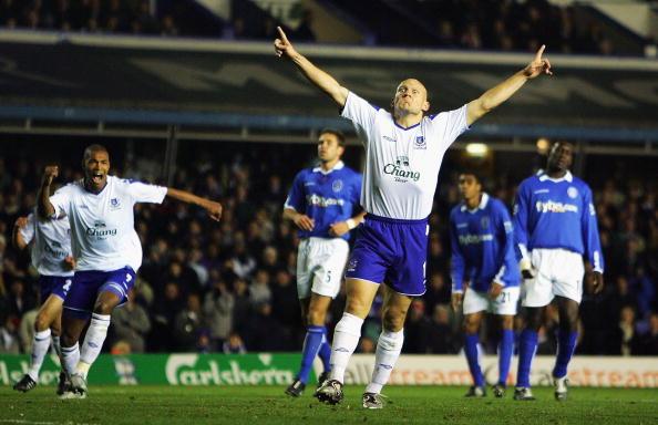 Hos Evertons publikum elsker man stadig Thomas Gravesen. Foto: Getty Images/Laurence Griffiths.