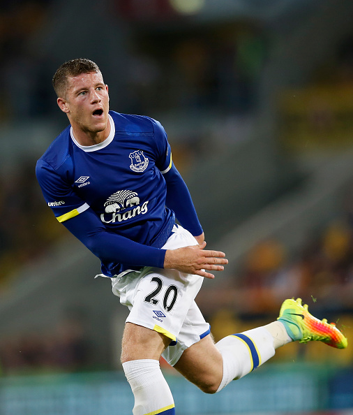 Ross Barkley, Everton. Foto: Getty Images/Boris Streubel.