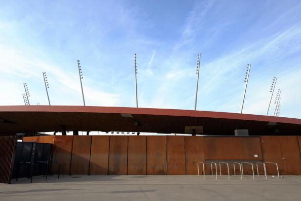 Her på Letzigrund bor Grasshoppers til leje. Foto: Getty Images/Euro Football.