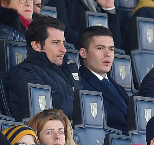 Det er den unge præsident, Ermir Kodra til højre på billedet. Foto: Getty Images/Giuseppe Bellini.