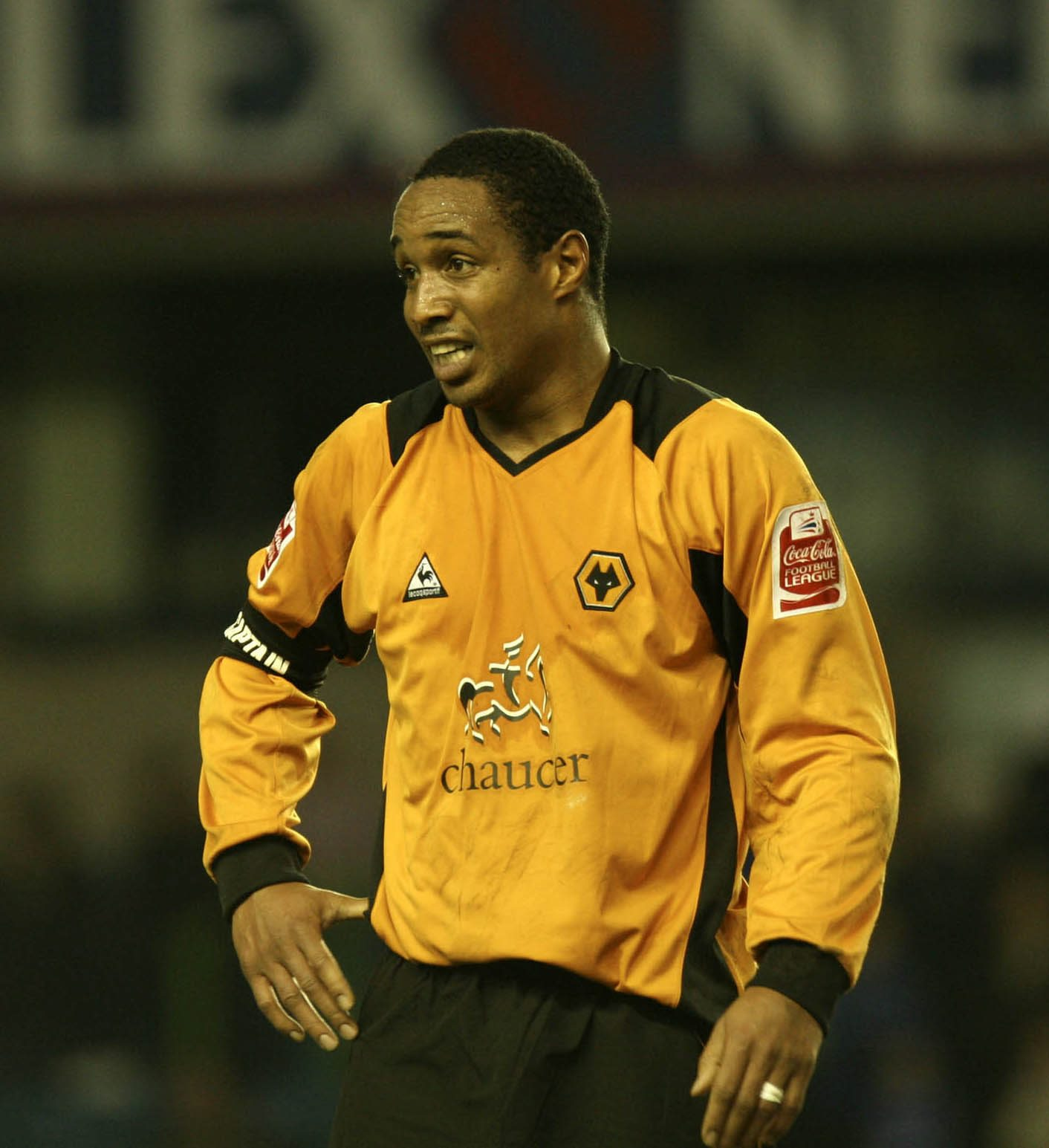 Paul Ince i sin Wolves-tid. Foto: Getty Images/Professional Sport