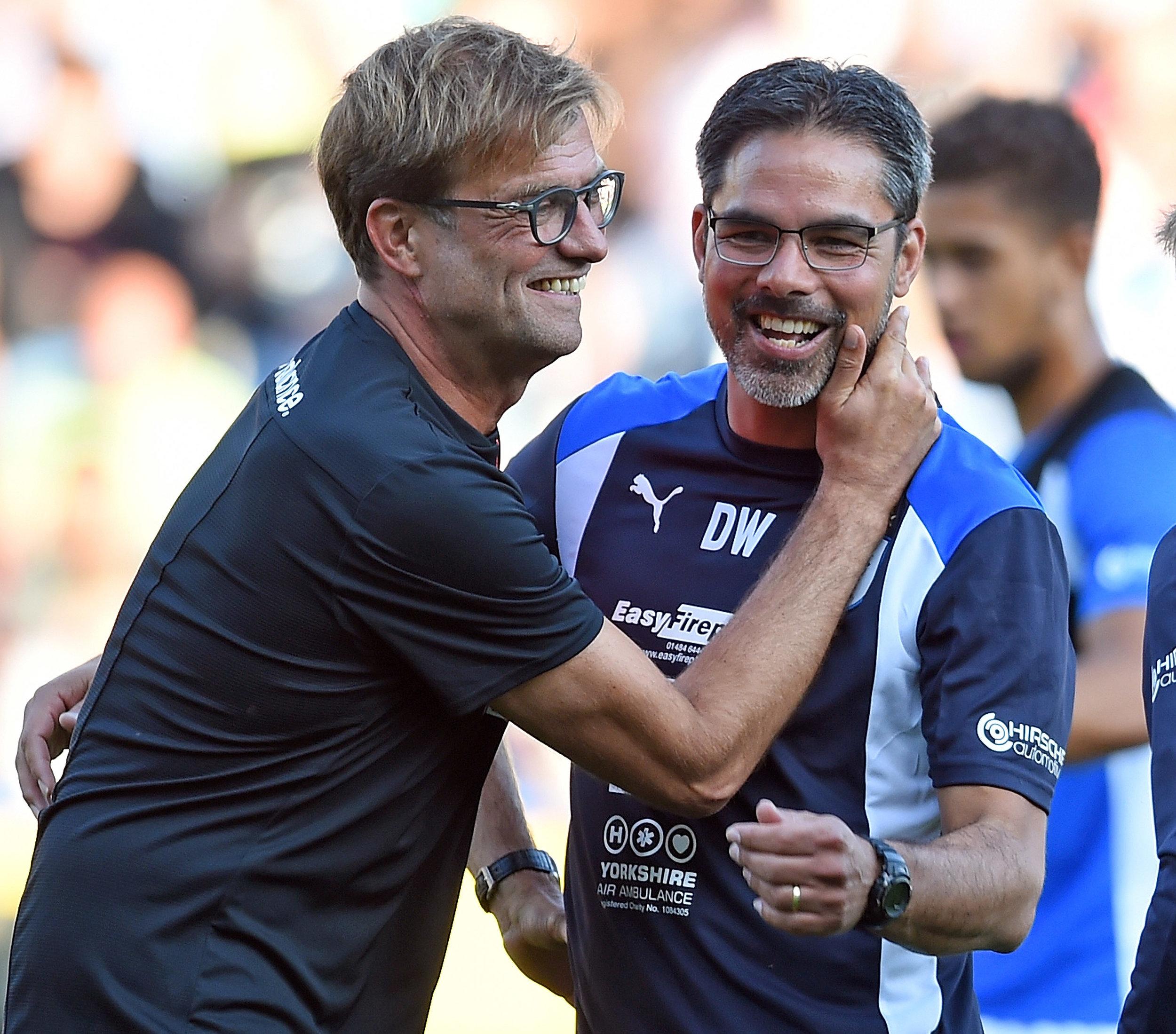 Klopp og Wagner sammen i Dortmund. Foto: Getty Images/John Powell.