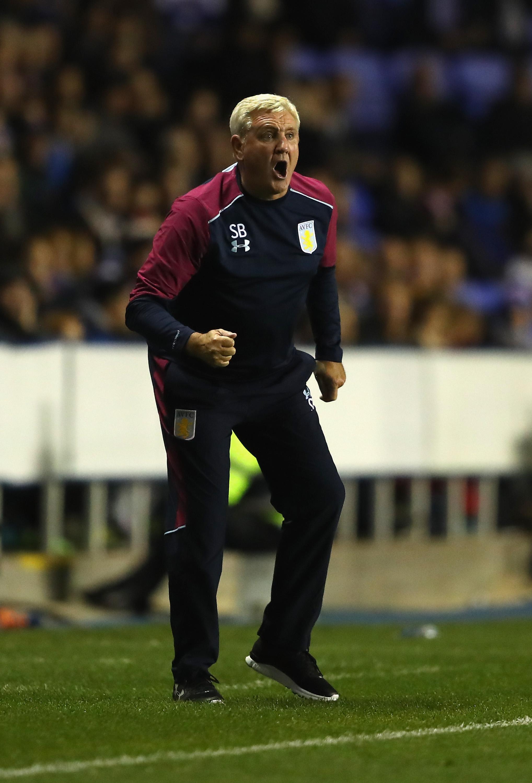 Steve Bruce står nu i spidsen for Aston Villa.   Foto: Getty Images