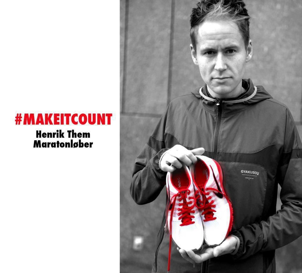 Henrik Them har Danmarks bedste maratontid de seneste 20 år. Privatfoto.