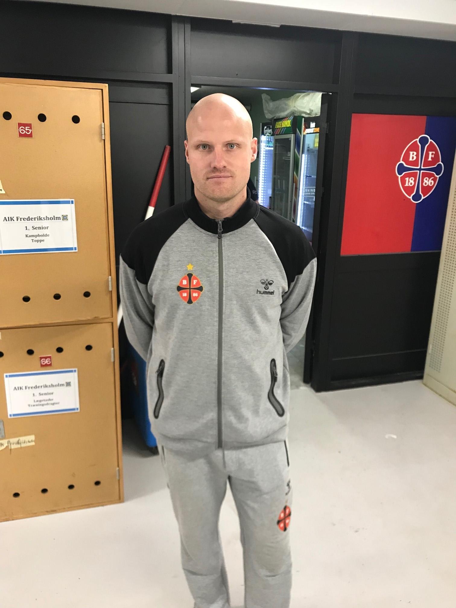 Cheftræner Martin E. Jensen
