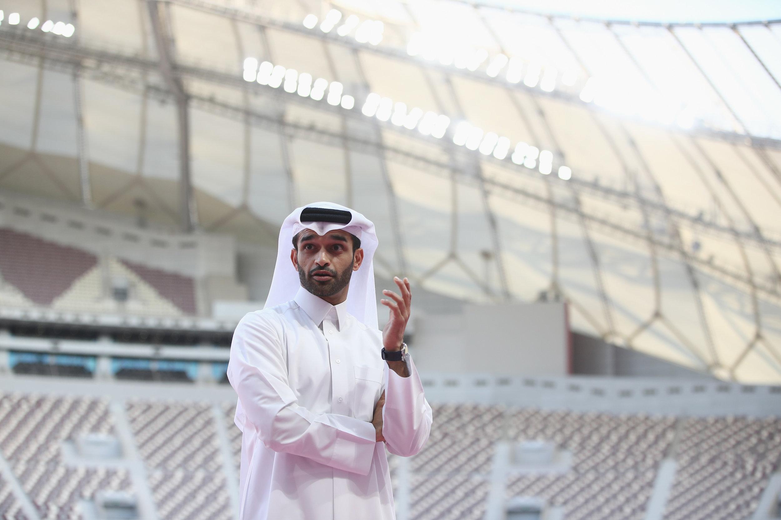 Hassan Al Thawadi er generelsekretær for Qatars værtsskab i 2022. Foto: Getty Images