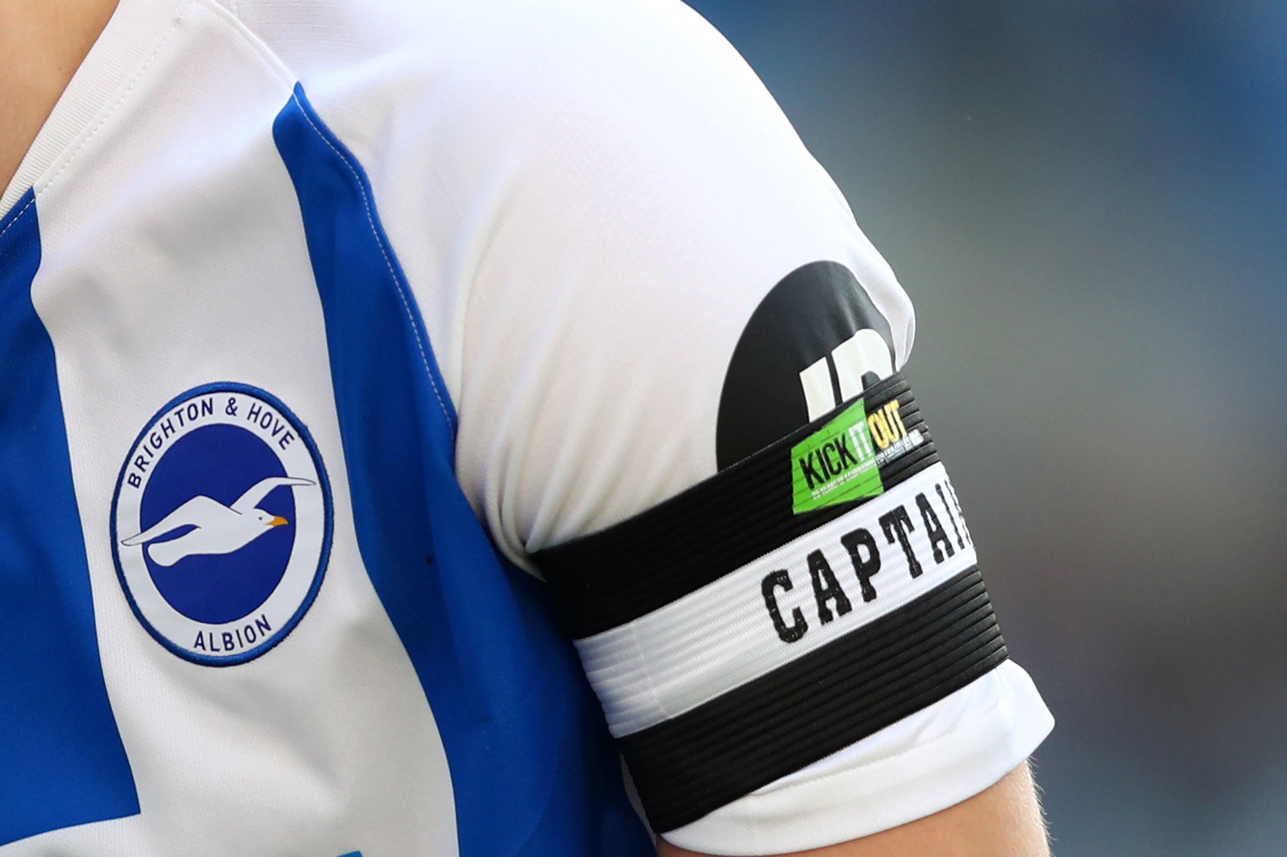 Brighton & Hove Albion Football Clubs karakteristiske logo. Foto: Dan Istitene/Getty Images