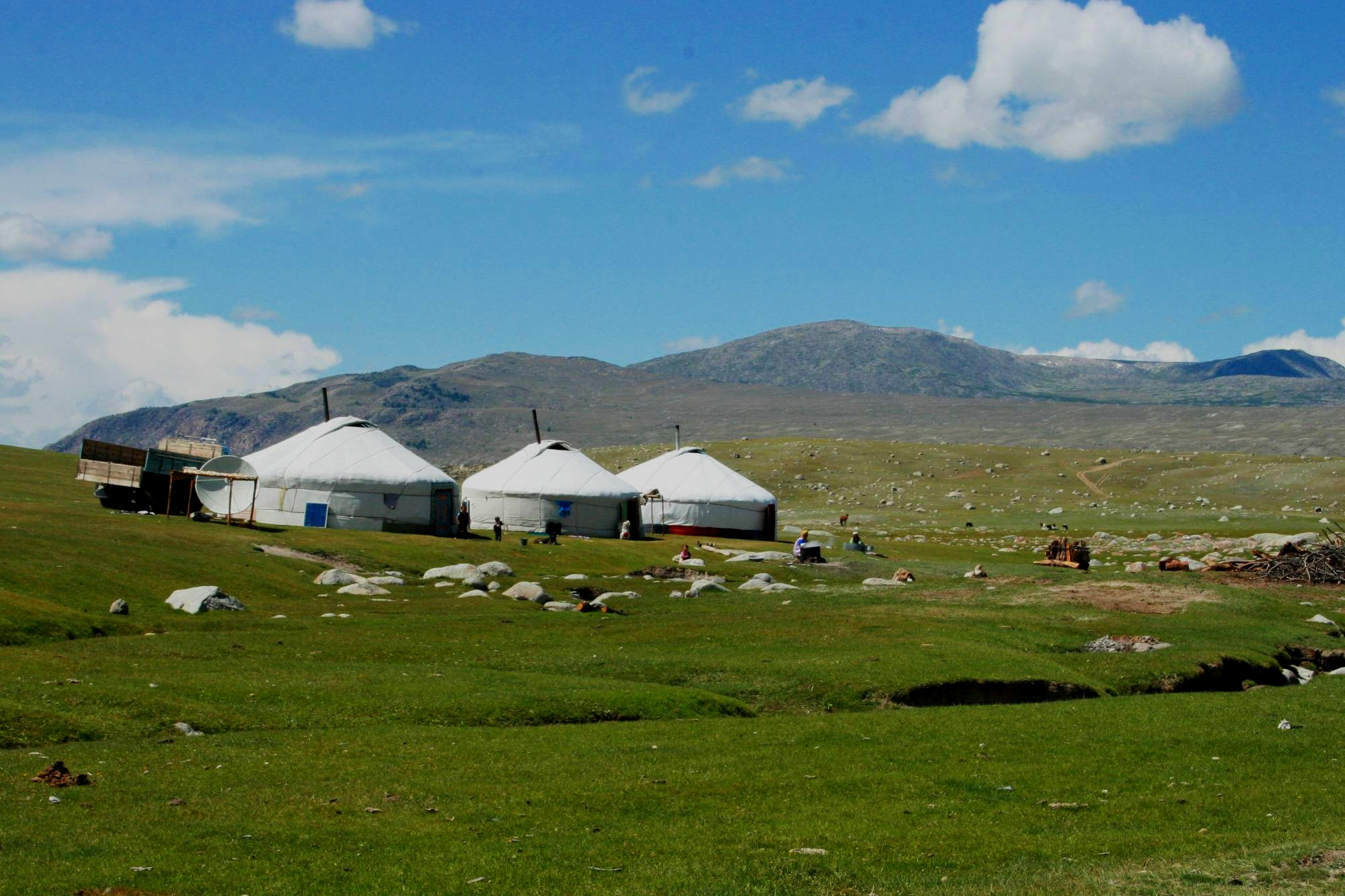 North. - In the North, you can experience what it's like living the life of a true nomad near the Gobi desert (Mongolia). The weather often ranges from 13C to -20C!