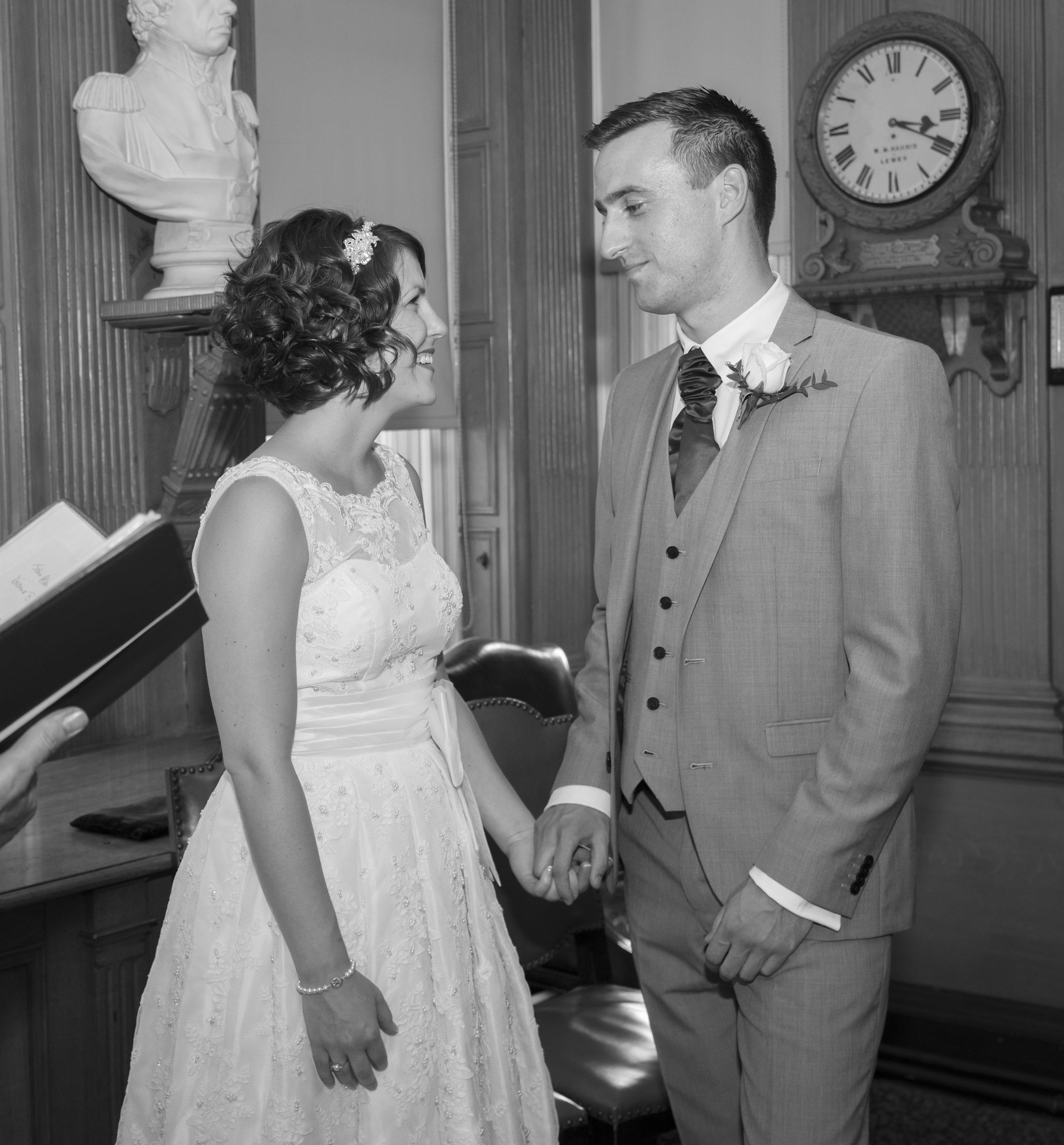 Wedding Photography - Lewes, Town Hall 6
