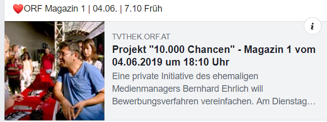 ORF Magazin 1 | 04.06.2019 | 7.10 Früh