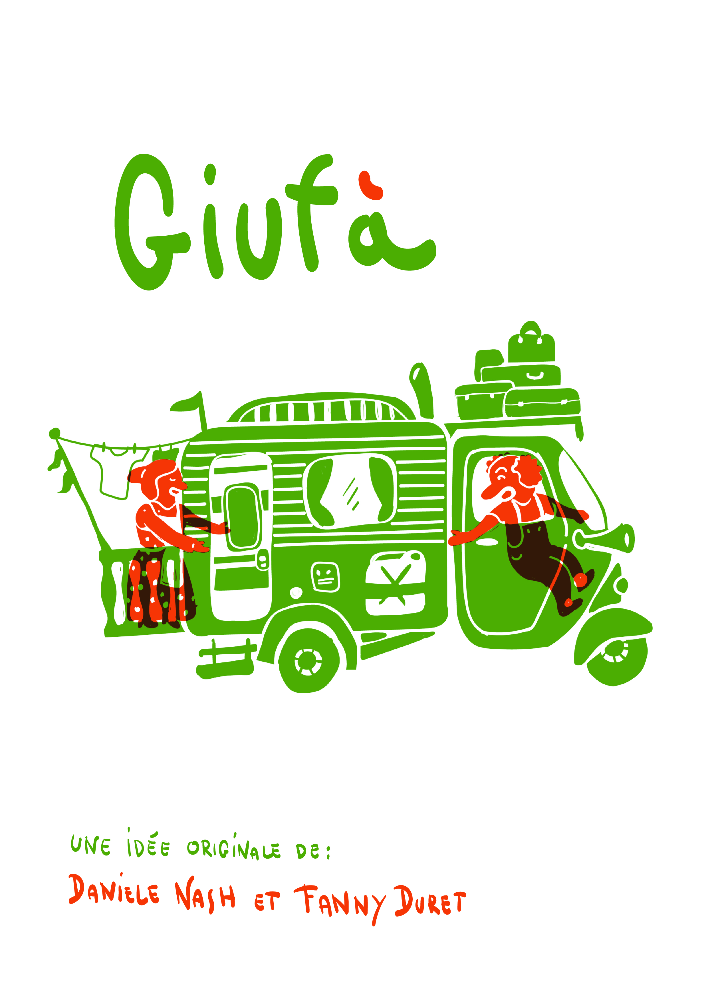 "New show for 2020! - ""Giufà"" (provisory title), from Cie Fada, written by Fanny Duret and Daniele Nash will come out in 2020!The project has already won 2 grants:- Grant SSA - FARS 2019 for writters in street art- Grant ""Writting in countryside"" from Latitude 50, Center of circus and street art in Belgium, in collaboration with the SSA (The Swiss Society of writters)Thanks at those 2 structures for their trust and collaboration!"