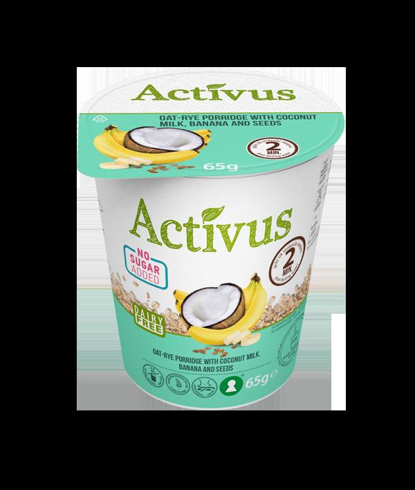 Activus Puurokuppi Kookos-banaani 55 g.png