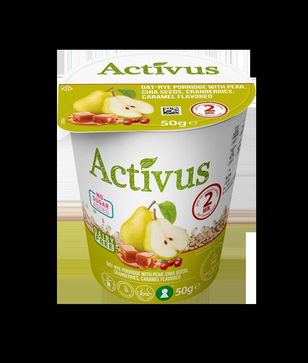 Activus Puurokuppi Päärynä-karamelli 50 g small.png