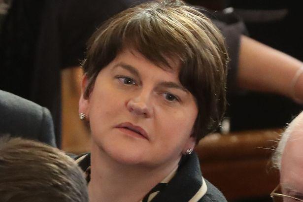DUP leader Arlene Foster. Credit: Getty
