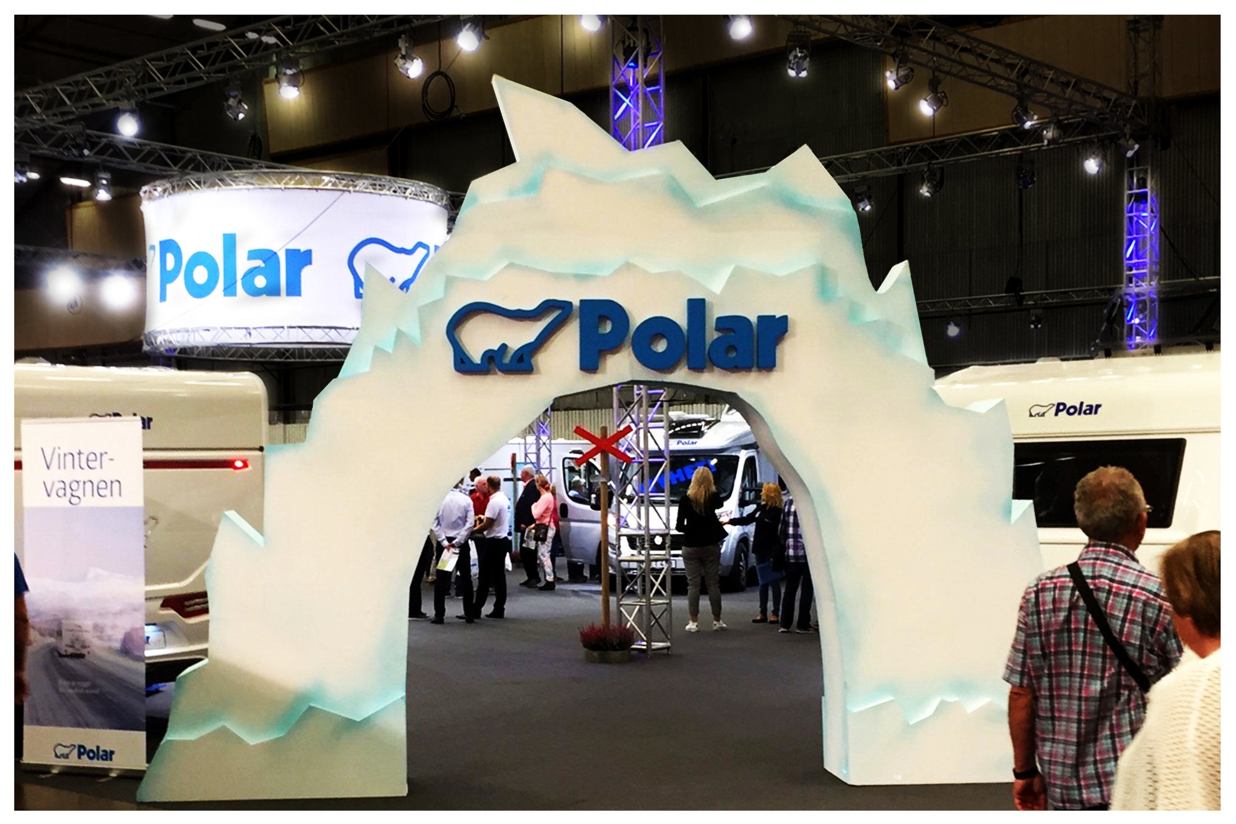 Polars monter på Elmia Husvagn 2016
