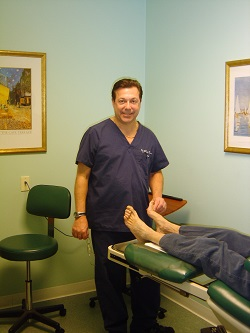 podiatrist howard tzorfas lebanon new jersey