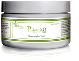 Probetic 20: moisturizing foot cream for cracked & dry feet