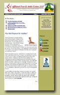 free foot health news letter