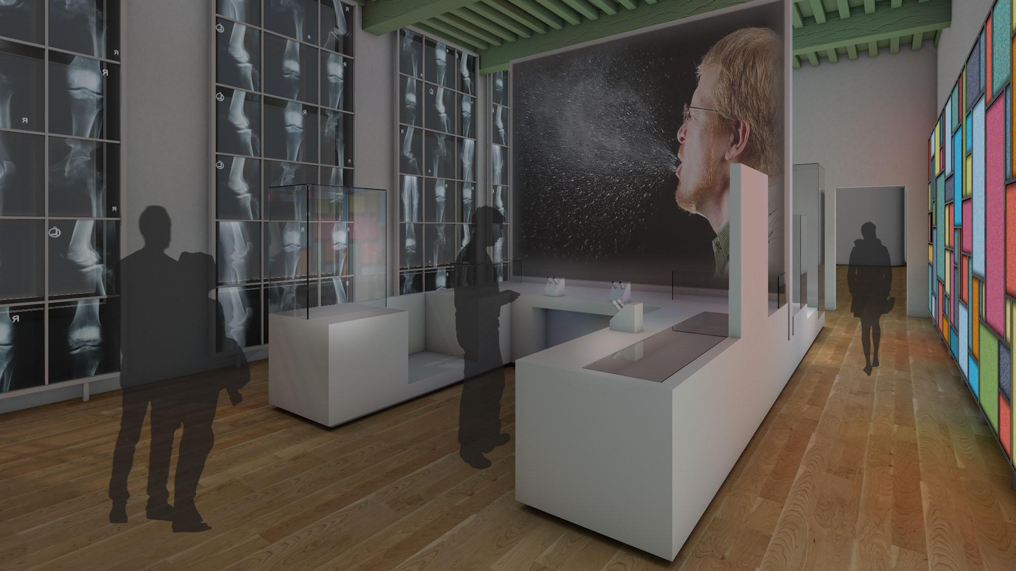 Boerhaave Museum permanent installation