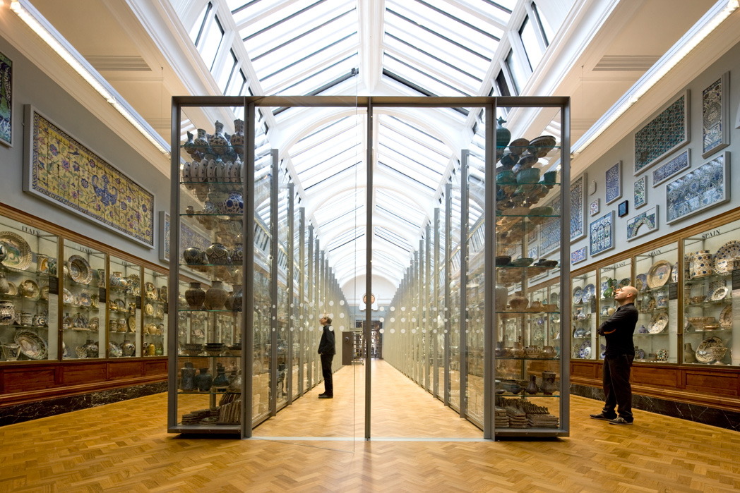 V&A 'Ceramic Study Galleries'
