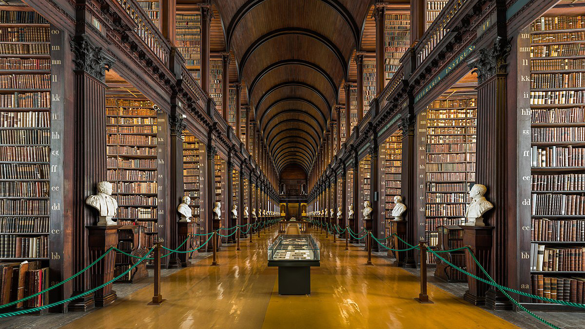 Trinity College Dublin The Book of Kells Experience (with Studio Louter)