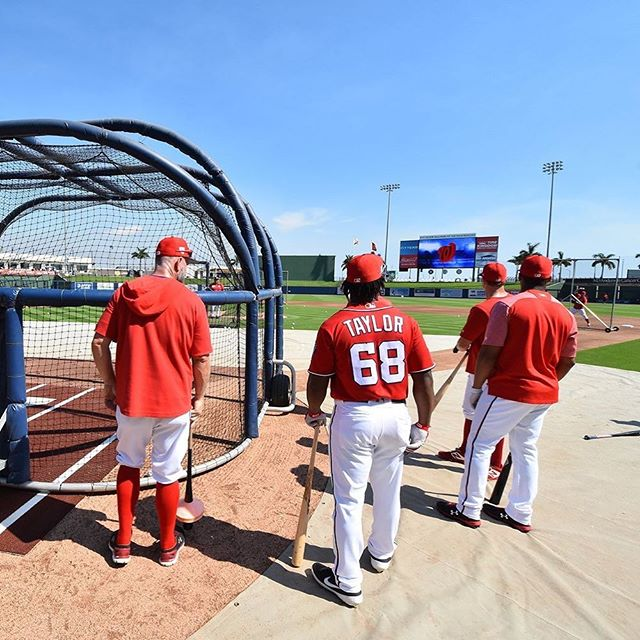 #Nats BP is underway at #FITTEAMBallpark