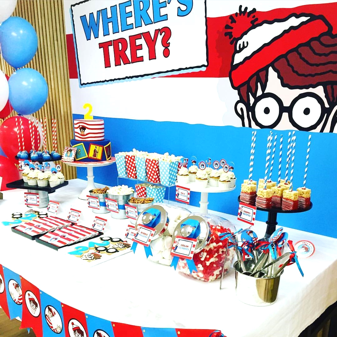 Where is Wally ? Themed Party