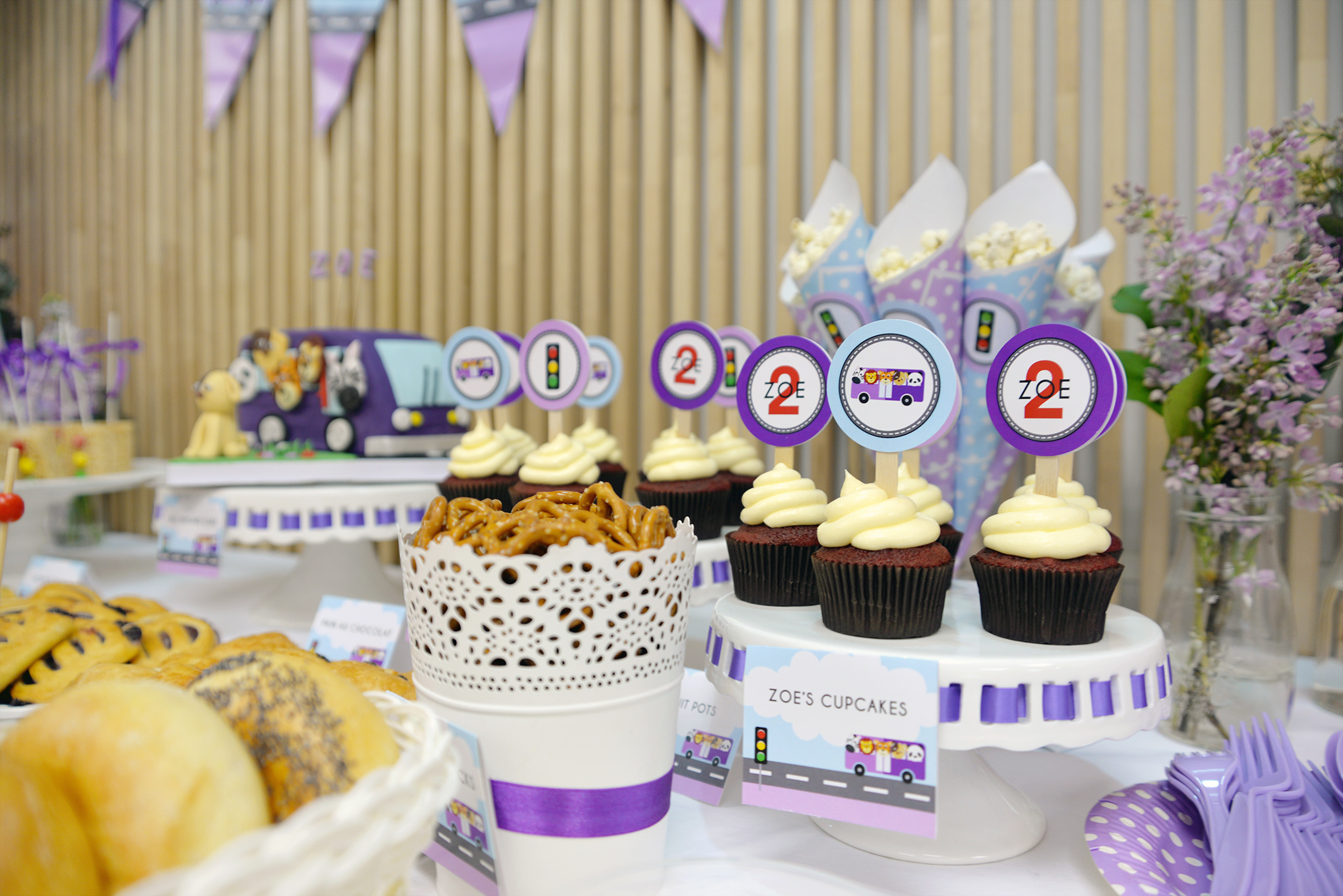 Purple Themed Party