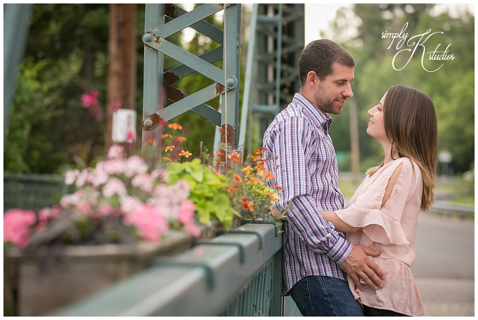 Simsbury Flower Bridge Engagement Session.jpg