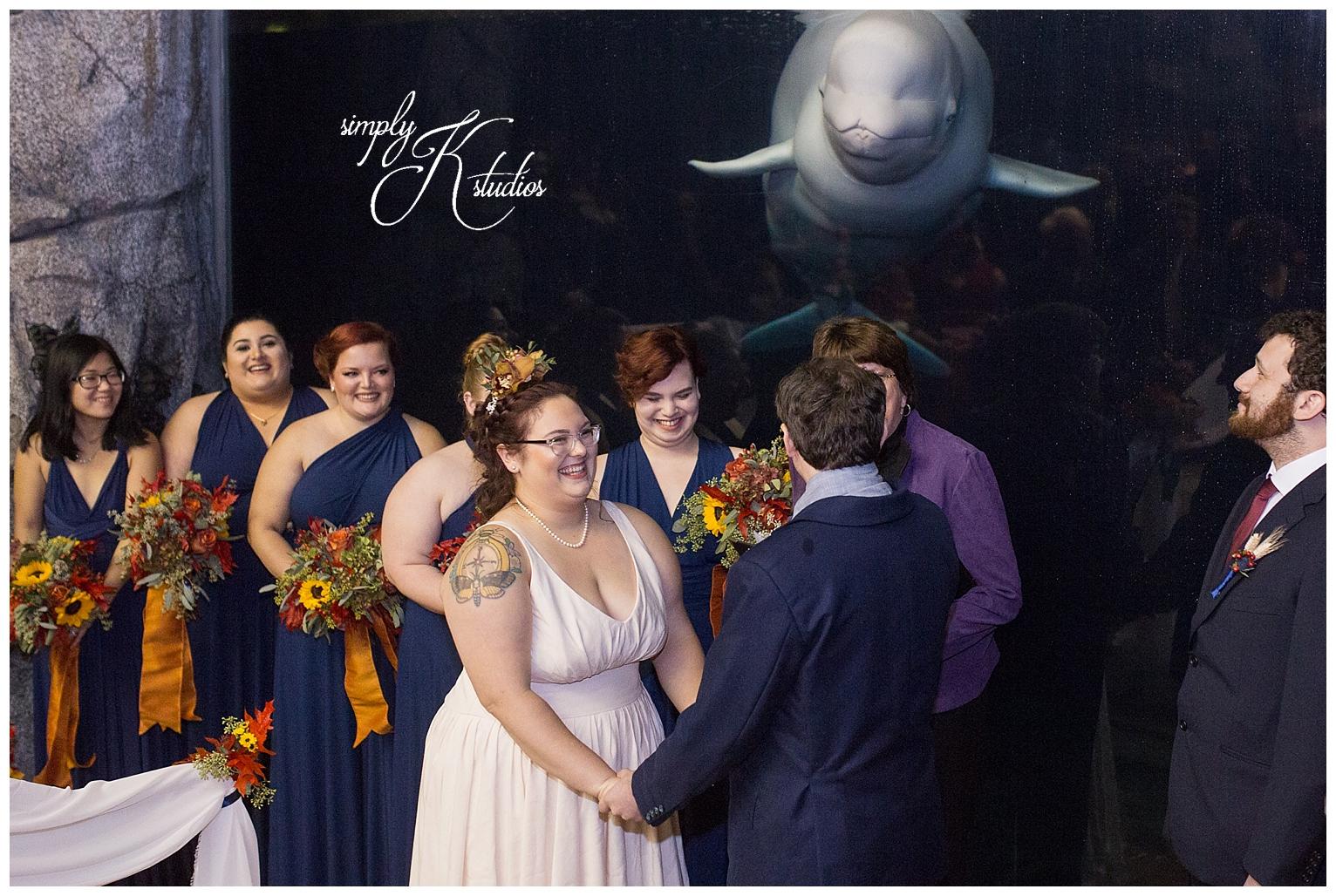 Wedding Ceremony at Mystic Aquarium.jpg