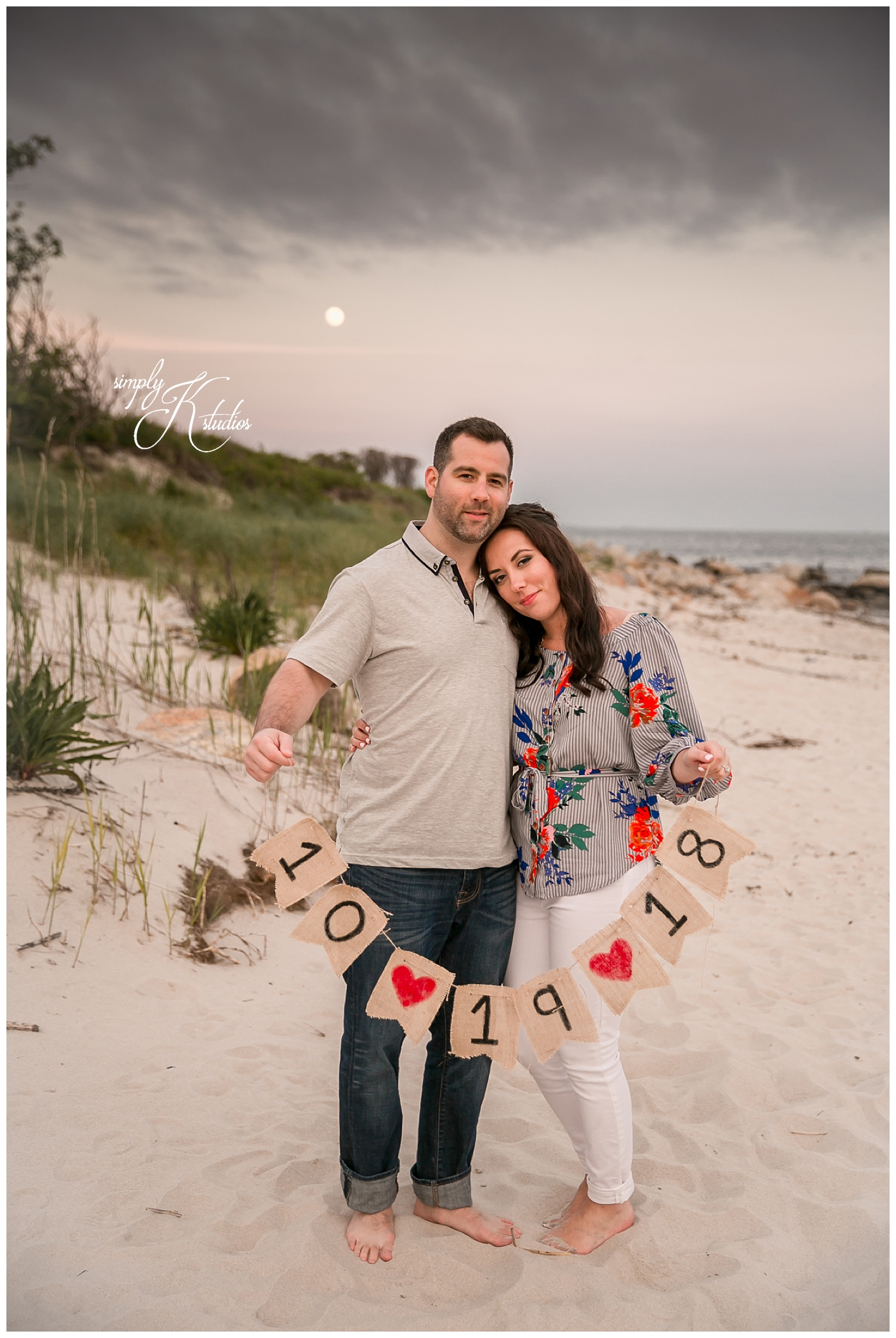 Sunset Beach Engagement Photos in CT.jpg
