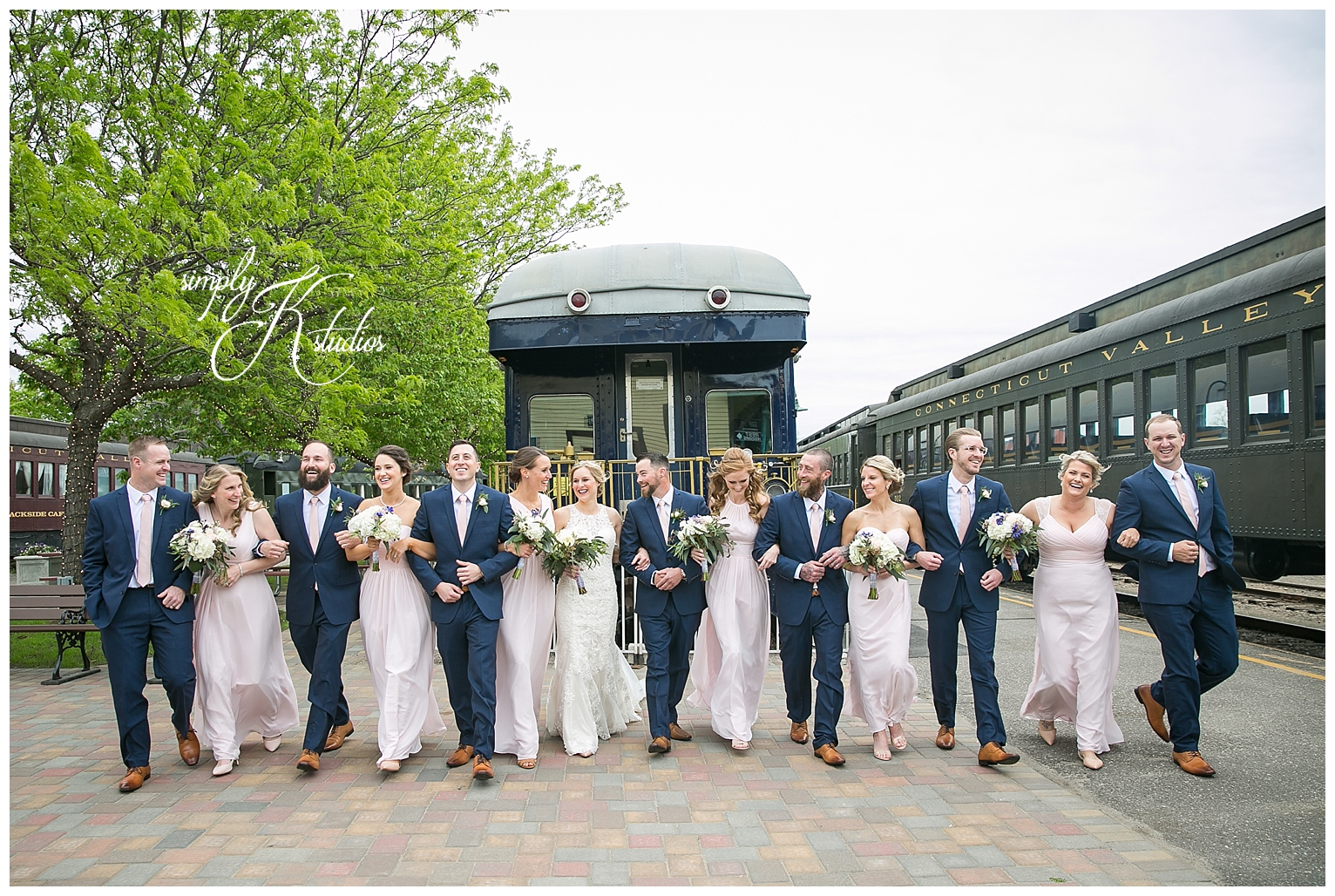 Bridal Party Photos at Essex Steam Train.jpg