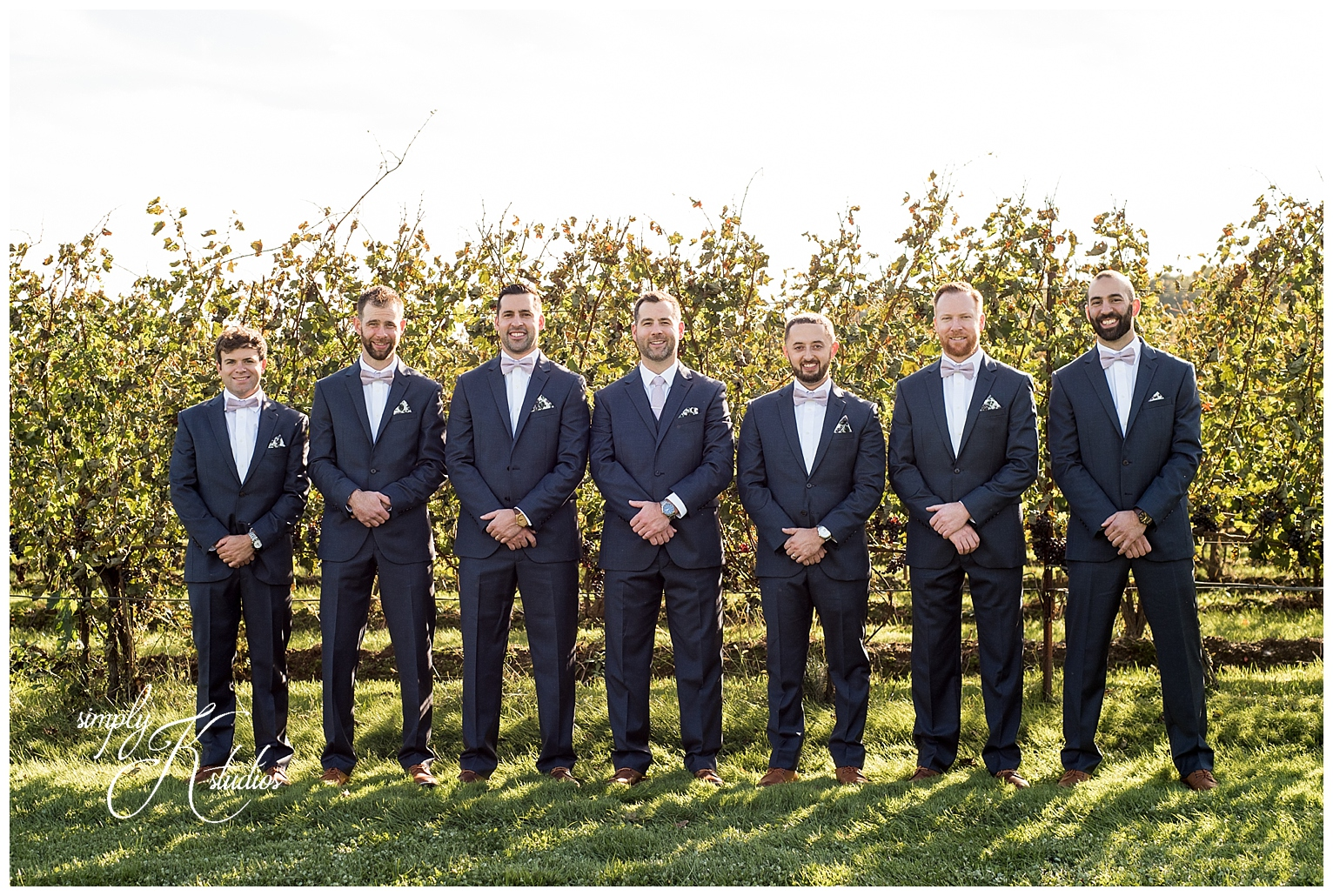 55 Groomsmen at a Vineyard Wedding CT.jpg